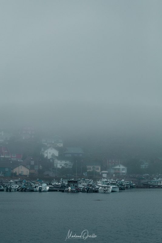 Saint-Pierre dans la brume