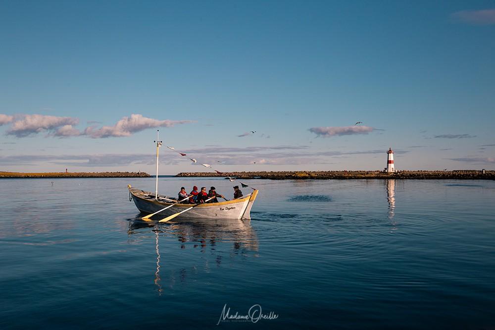 Doris, bateau de pêche tradition à Saint-Pierre et Miquelon