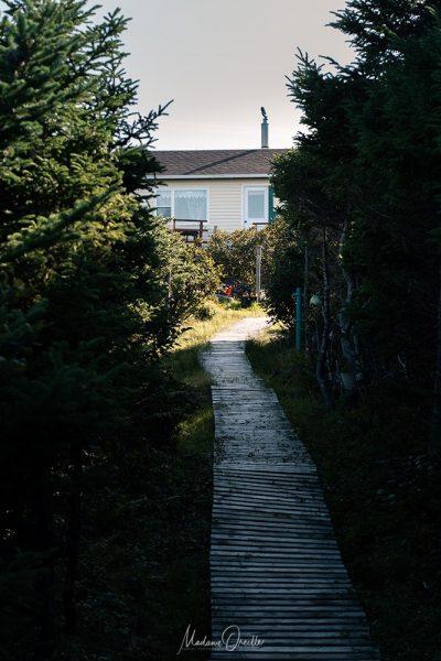 Les petits chemins vers les maisons de Langlade