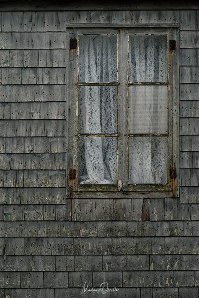 Vieille maison en bois à Miquelon