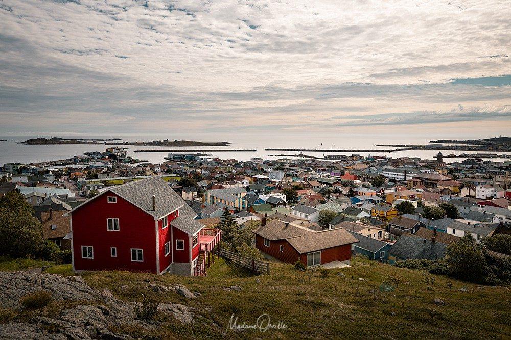 Les maisons colorées de Saint-Pierre