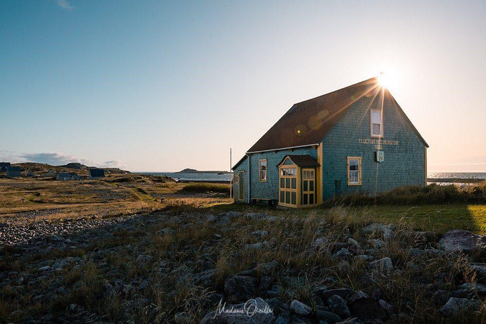 Maison sur l'île aux marins