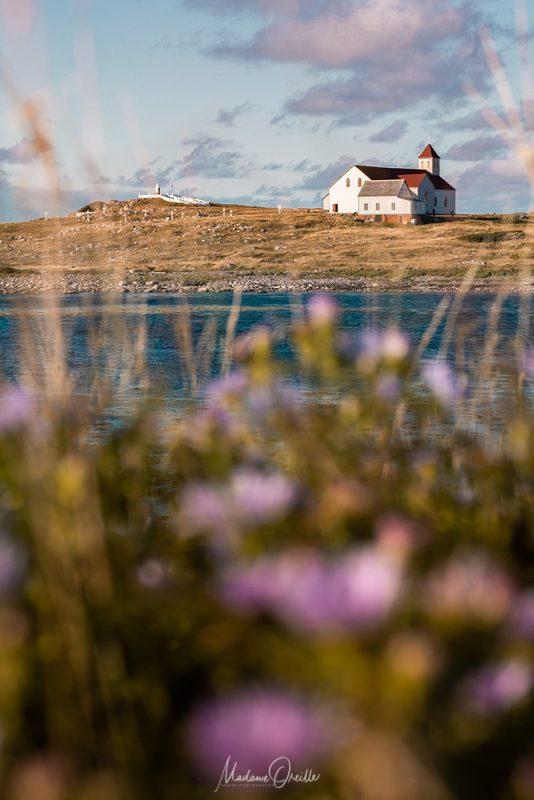 l'église de l'île aux marins