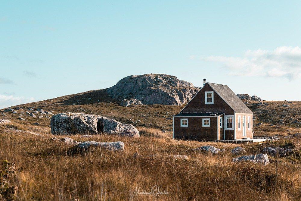 l'île aux Marins et ses petites maisons en bois