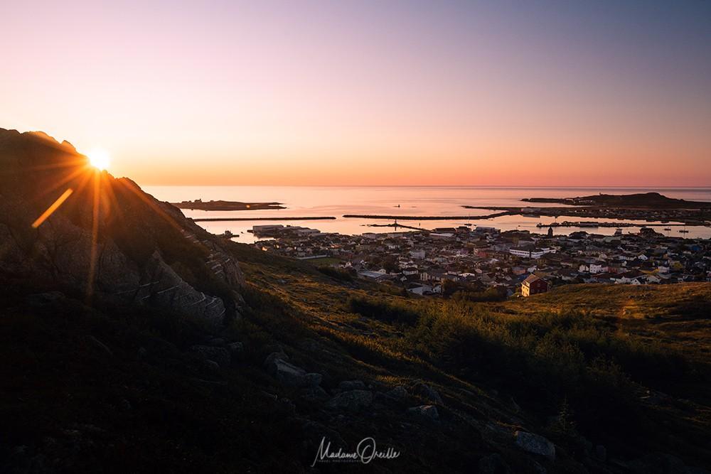 lever de soleil sur Saint-Pierre