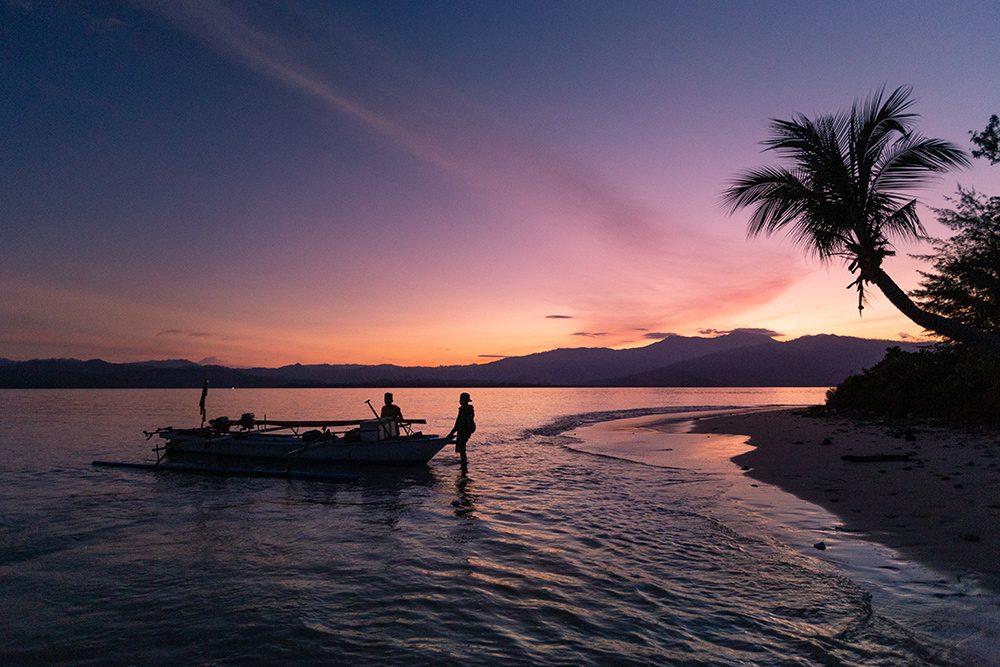 île déserte à Sulawesi