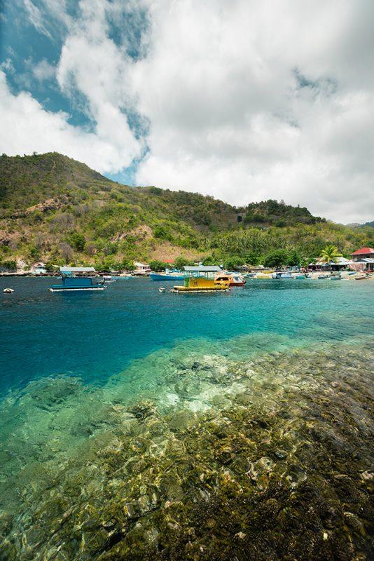 snorkeling à côté de Gorontalo