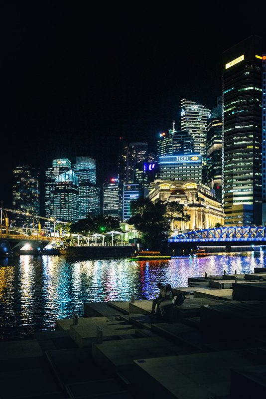 escale à Singapour entre Paris et Sulawesi