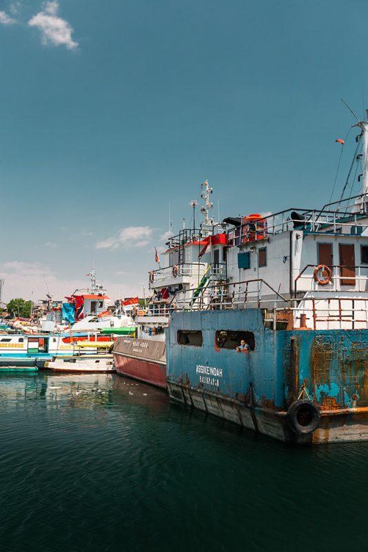 port de Makassar, Sulawesi