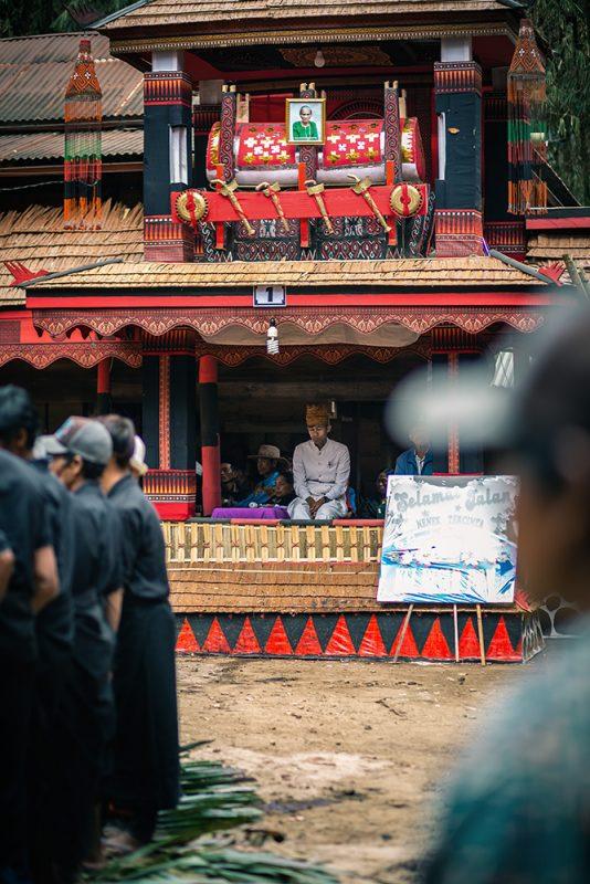 cérémonie d'enterrement