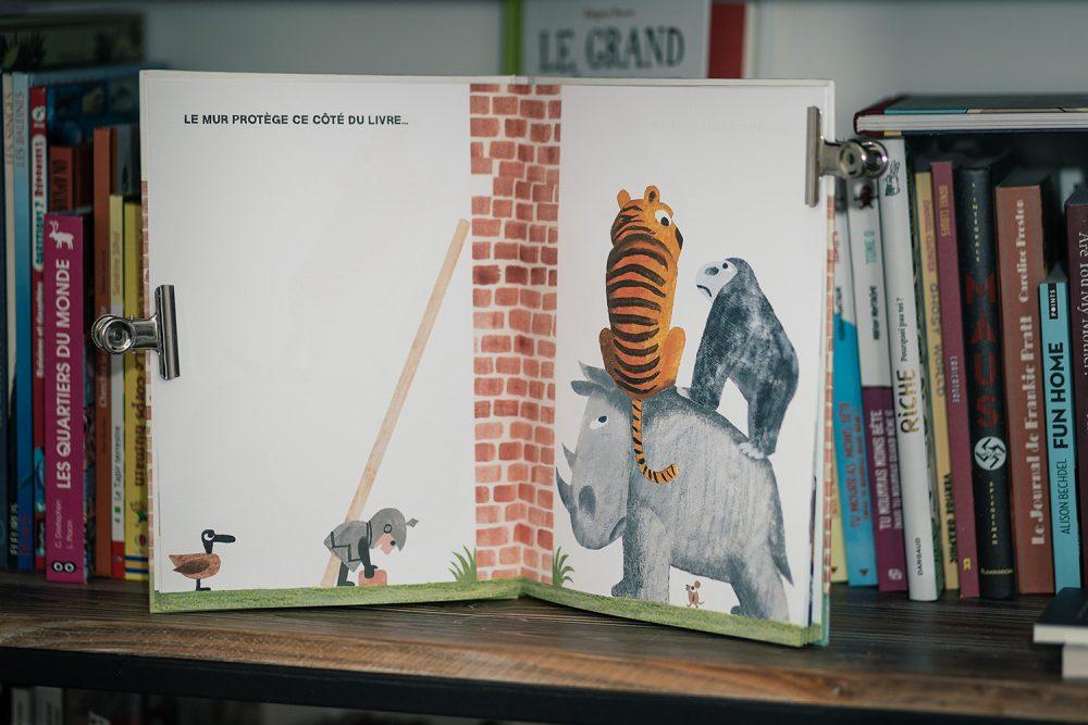 Du bon côté du mur, livre pour enfant