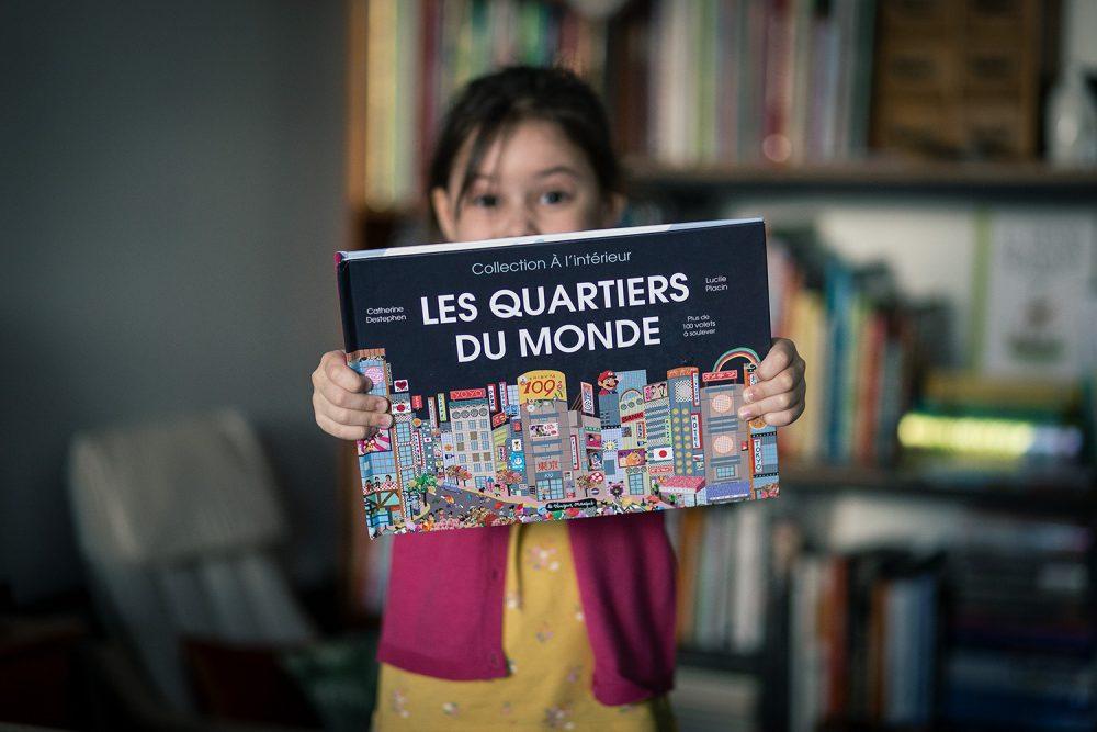 Livre pour enfants : les quartiers du monde