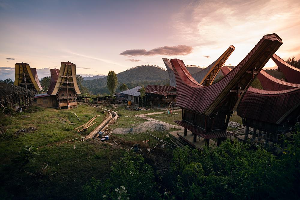 Tongkonan au Pays Toraja