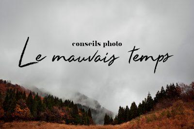 photographier le mauvais temps
