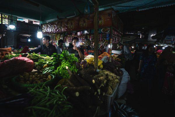 Marché de Gorontalo, Sulawesi
