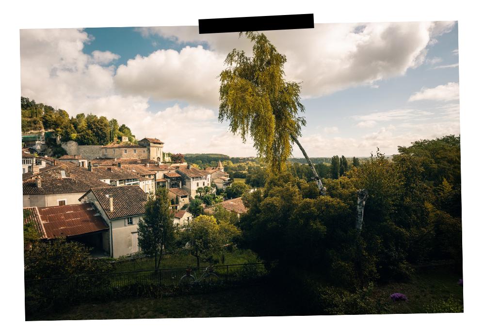 Point de vue sur Aubeterre