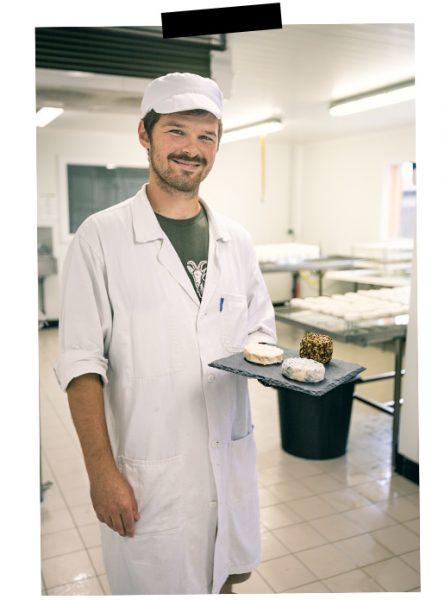 production de fromage à la ferme de la Thibauderie