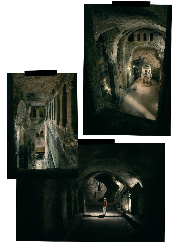 église monolithe souterraine d'Aubeterre sur Dronne