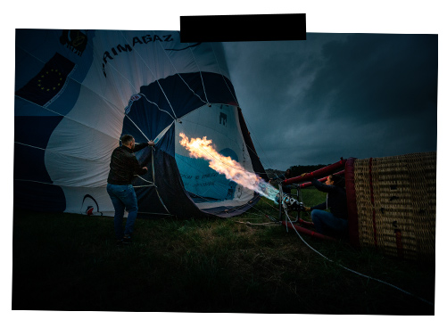 montgolfière en sud charentes